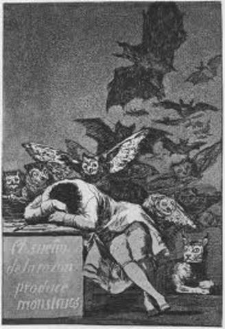 """Caprichos""  by Goya"
