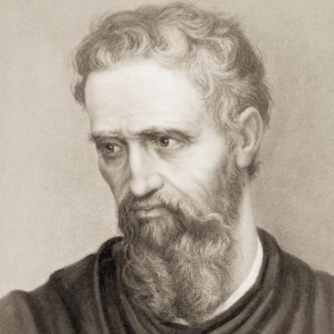 Michelangelo paints Sistine Chapel