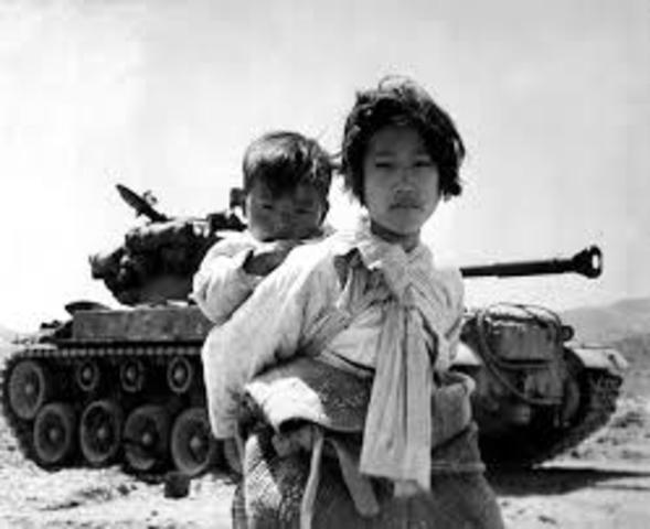 La guerre de Corée
