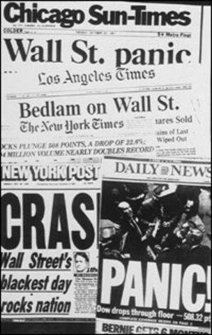 Black Monday (Stock Market Crash)
