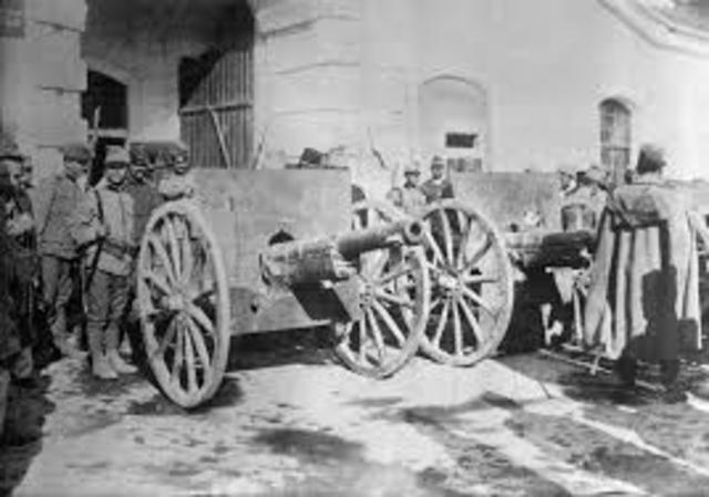 Primera Guerra Mundial 1918