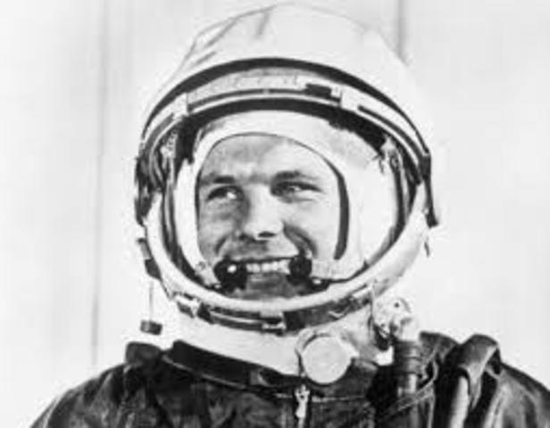 primer ser humano en viajar al espacio exterior