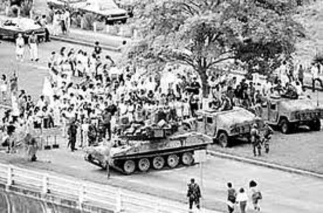 Estados Unidos invade Panamá