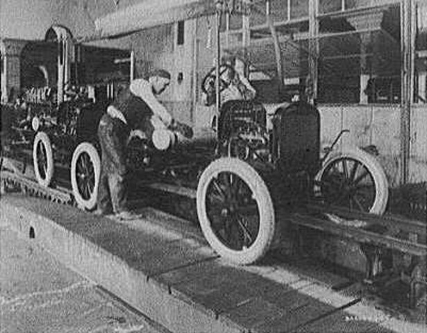 Ford astonished the world by offering a $5 per day wage ($120 today), which more than doubled the rate of most of his workers