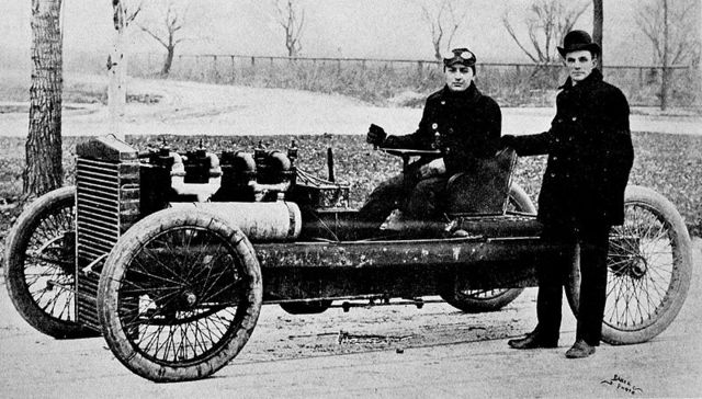 Ford maintained an interest in auto racing