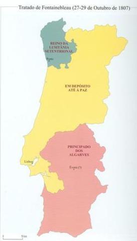 Treaty of Fontainebleau 1807