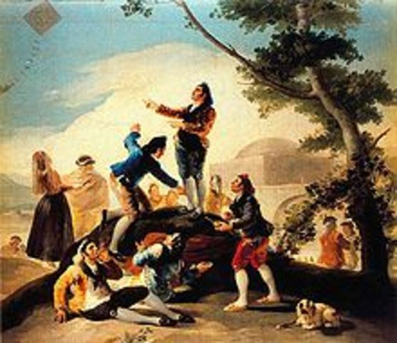 Goya became Charles III painter