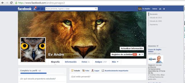 aqui es cuando me uno a Facebook