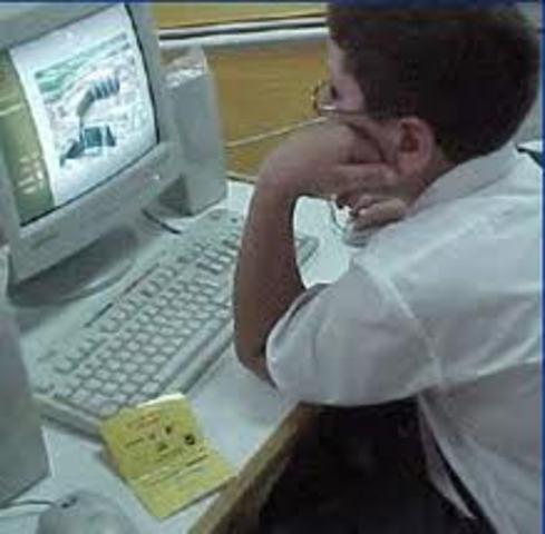 mi primer contacto con una computadora