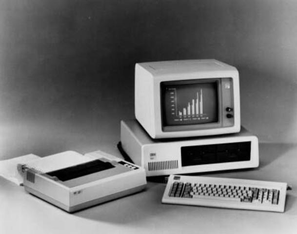 Llega la PC de IBM