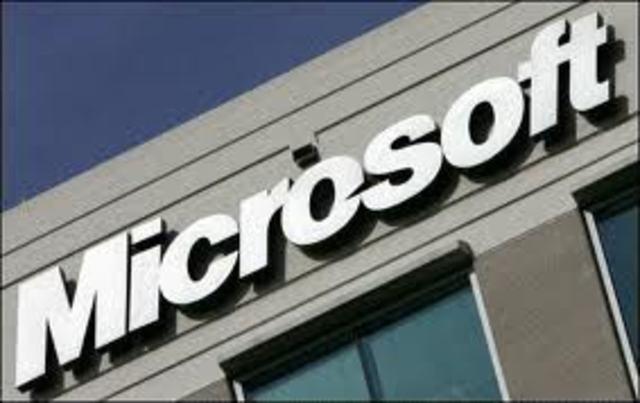 una accion de Microsoft