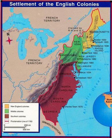 Three Colonies