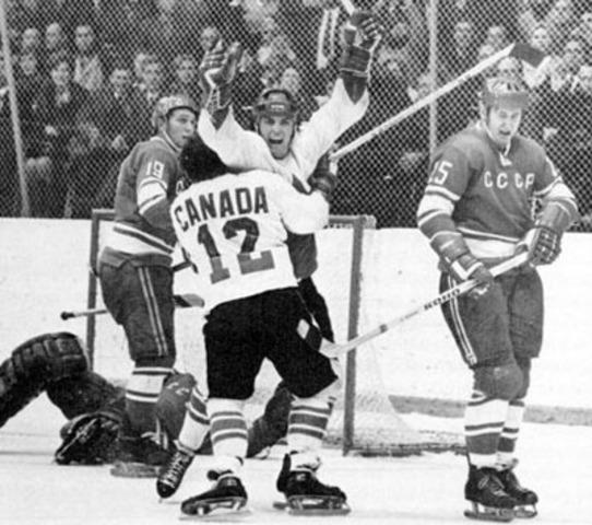 Jeu de hockey 1972