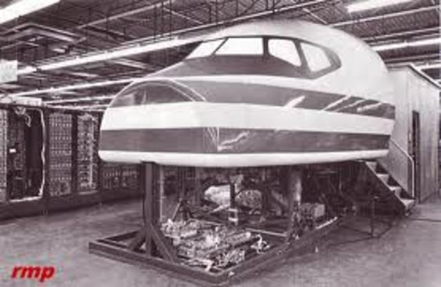 Primer simulador de vuelo