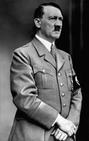 Adolf Hitler appointed Chancellor of Germany