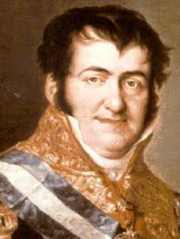 Fernando VII incumple la Constitución