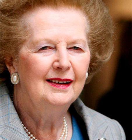 Fallece Margaret Thatcher