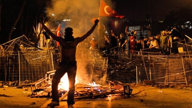 Protestas en Turquía