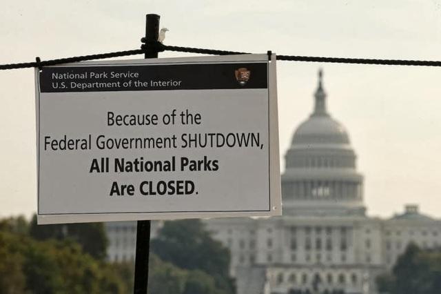 Shutdown en EE.UU.