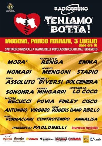 "Manifestazione ""Teniamo Botta"" @Parco Ferrari - Modena"