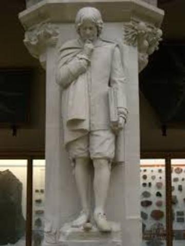 Isaac Newton dies