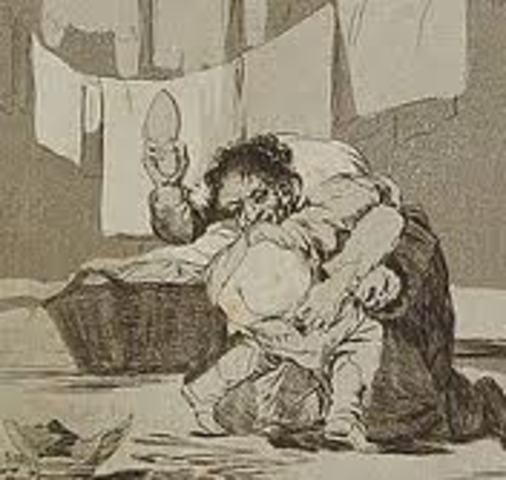 Caprichos of Goya