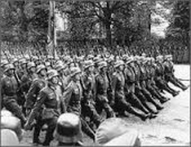Germany invades Belgium.