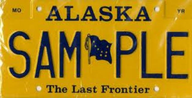 Alaska joins the United States