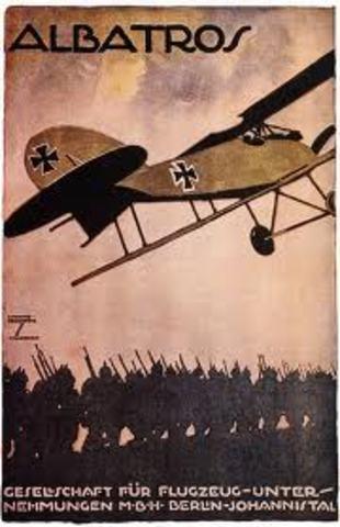First Air Raid over Britain