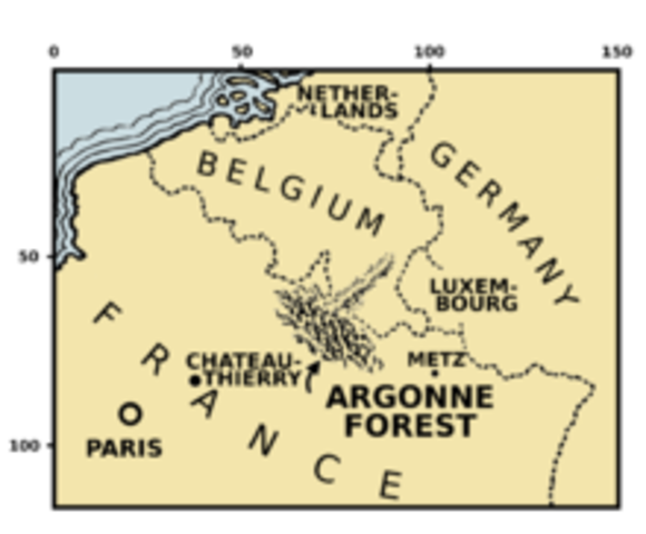 Battle of the Argonne Forrest
