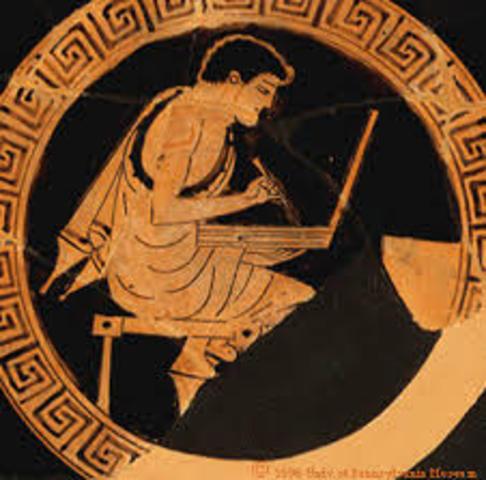 1650 BC Athenians.