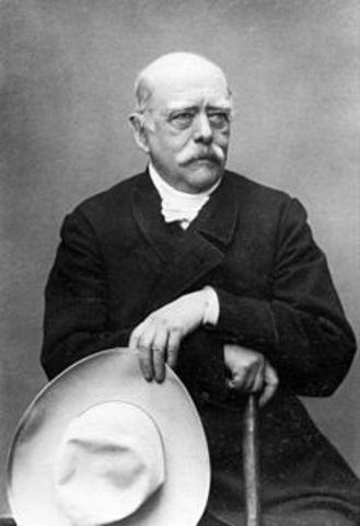Otto Von Bismark born