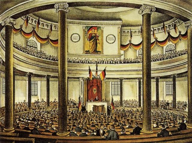 Frankfurt Assembly demans unity