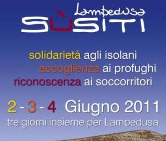 "Manifestazione ""Lampedusa Sùsiti"" @Cala Pisana - Lampedusa"