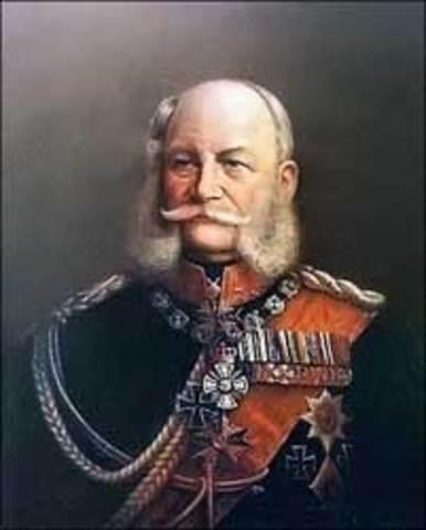 William I becomes emporer