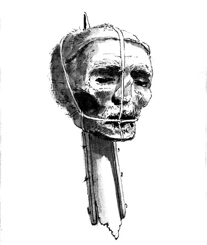 oliver cromwell and the execution on charles l