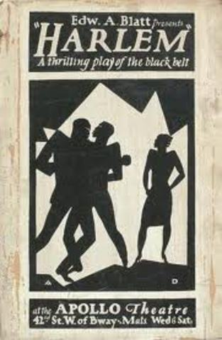 Wallace Thurman's play Harlem