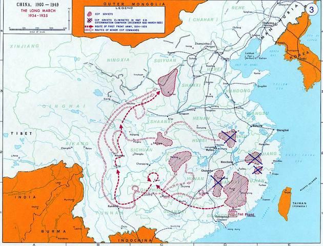 The Long March in Jiangxi (P1)