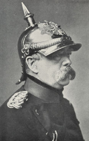 Bismarck drafts the constitution