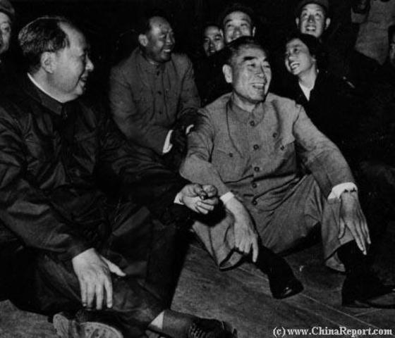 Mao Becomes the First President of the PRC
