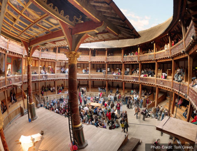 Building of the Globe Theatre