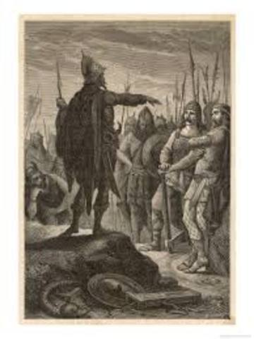 476 AD. Odoacer,