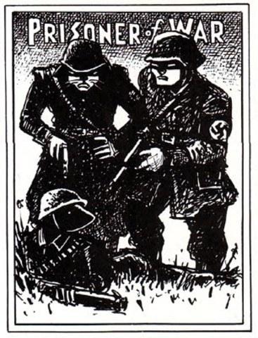 Vladek is taken as a prisoner of war by the Nazis