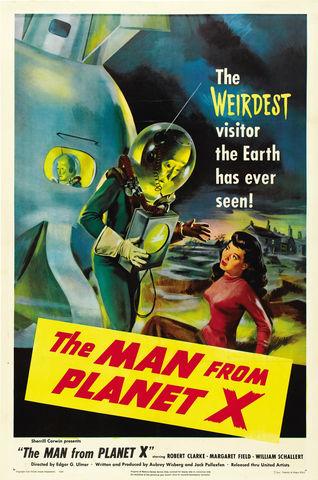 El hombre del planeta X