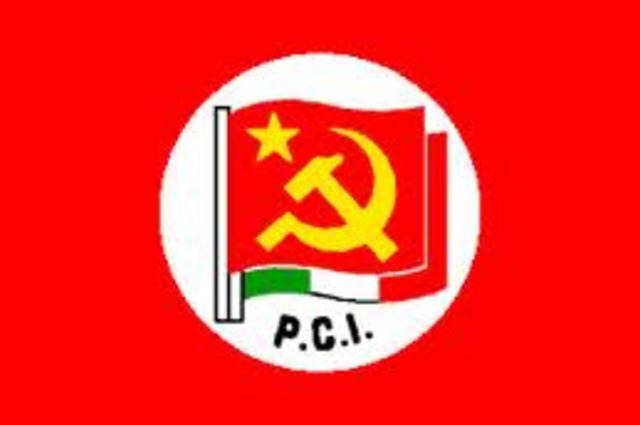 Parito Comunista Italiano.