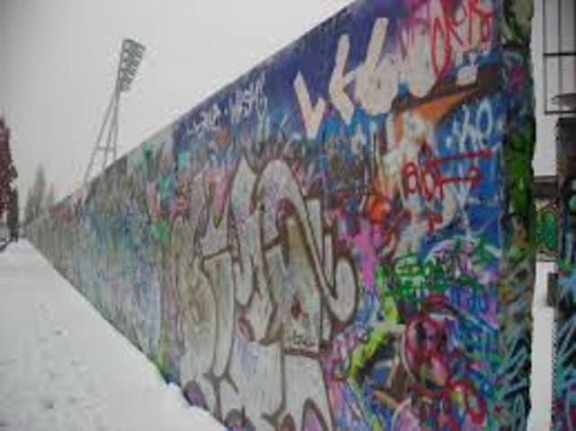 Viene eretto il Muro di Berlino.