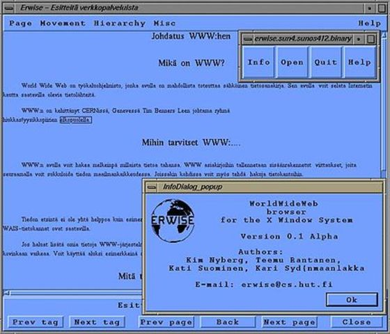 Erwise Browser