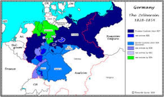 Creation of Zollverein