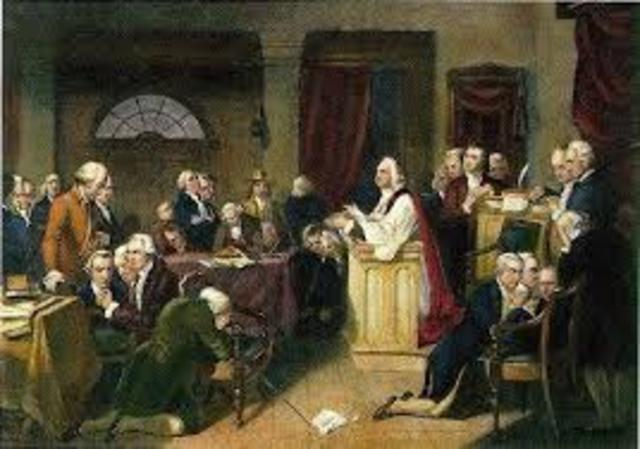 Coercive Acts (Intolerable Acts) 1st Continental Congress