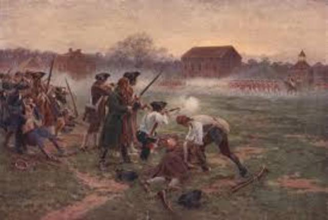 Battles of Lexington and Concord / 2nd Continental Congress